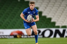 'The biggest honour' for Ringrose as he prepares to lead Leinster against Ulster