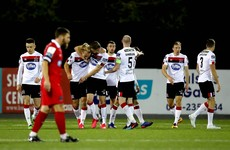 Stunning strikes help Giovagnoli to first home win at Dundalk helm after Shels thriller