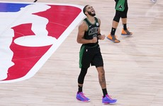 Tatum's 29 points helps Celtics into NBA Eastern Conference finals as Raptors' title defence ends