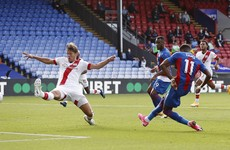 Zaha strike gives Palace opening day win over Saints