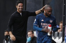 'It's only the press that says I'm not happy' - Lacazette wants Arsenal stay amid Atletico Madrid links