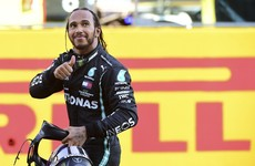 Hamilton prevails in dramatic Tuscan Grand Prix to stretch title advantage