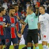 Neymar among five players sent off as PSG/Marseille ends in all-out brawl
