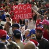 Covid guidelines ignored as Trump addresses large indoor rally in Nevada