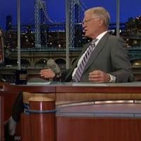 Did David Letterman give away a major Dark Knight spoiler on US TV?