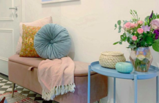 Get The Look: 6 high street buys inspired by Leah's pretty-in-pink (and blue) hallway