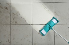 No streaks, no stickiness, no stains: Here's how to properly mop a tiled floor