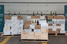 More than 1,100 litres of wine seized from van which travelled to Ireland from France