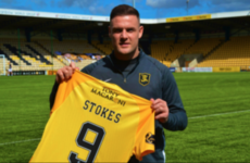 Anthony Stokes leaves Livingston after just three weeks
