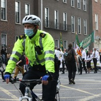 Taoiseach says he has 'deep concerns' about 'aggression' of weekend anti-mask protest