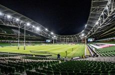 Any attendance at Leinster game likely to be made up of players and their families
