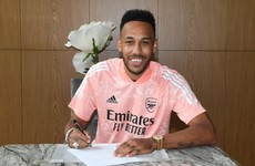 Aubameyang keen to leave legacy after signing new Arsenal deal