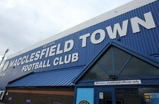 Macclesfield Town wound up due to debts of over €500k