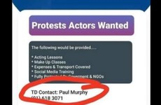 Debunked: No, Paul Murphy isn't recruiting and training actors to attend protests