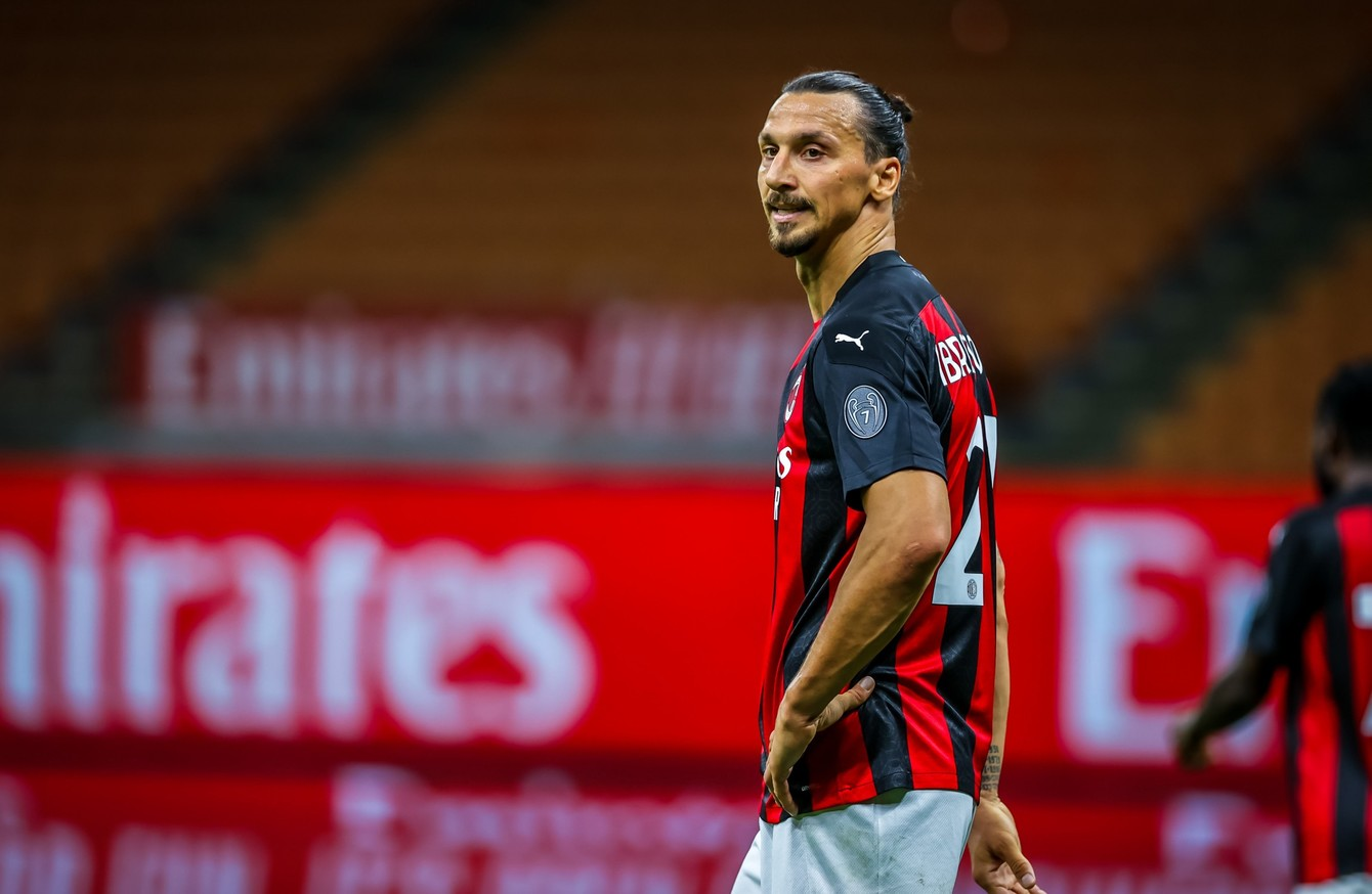 Zlatan Included As Milan Confirm Squad For Shamrock Rovers Tie The42
