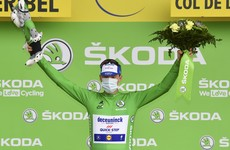 Bennett extends green jersey lead to 47 points as Colombia's Lopez wins stage 17 of Le Tour