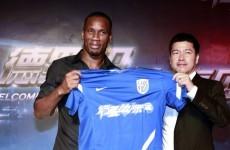 Drogba gets hero's welcome as he joins Shanghai Shenhua
