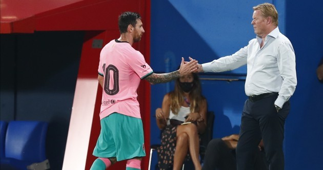Two goals from magical Messi help Barca to pre-season victory