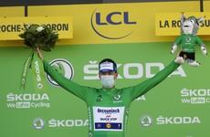 Sam Bennett extends green jersey lead at Tour de France