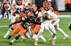 No.1 pick Burrow impresses again but Bengals beaten by Browns