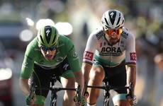 Bennett fends off Sagan to tighten grip on Tour de France green jersey