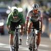 Bennett fends off Sagan to tighten grip on Tour de France green jersey