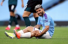 Guardiola admits Aguero could miss another two months with injury