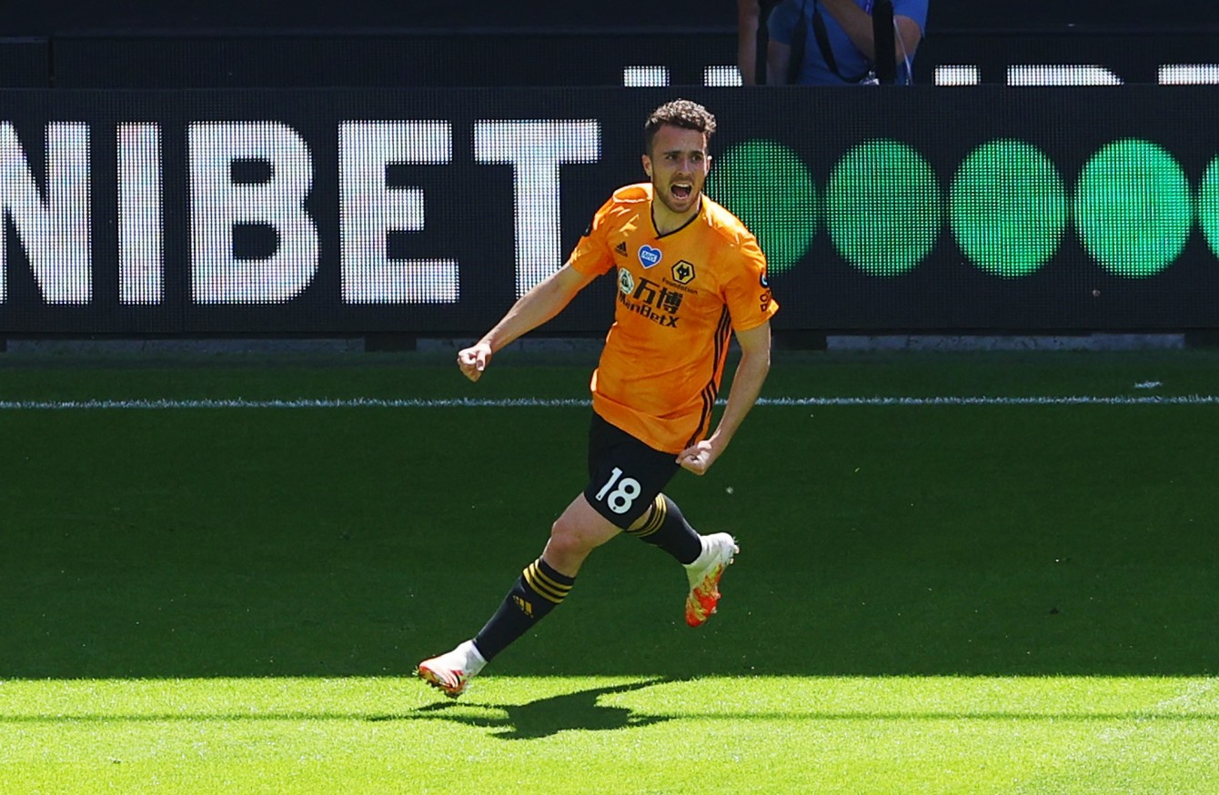 Liverpool Agree Fee With Wolves For Diogo Jota The42