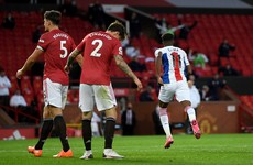 Wilfried Zaha punishes Manchester United as Palace pull off shock win