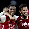 Late Nketiah winner sees Arsenal move level with Everton and Crystal Palace at top of the table