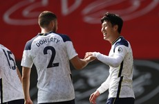 Son shines with four goals in Tottenham's thrashing of Southampton