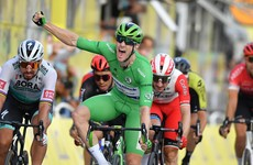 Sam Bennett takes final stage and wins Ireland's 1st Tour de France green jersey in 31 years