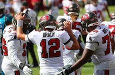 Brady off the mark in Bucs win, Cowboys stun Falcons
