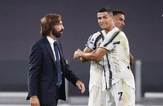 Ronaldo helps the Pirlo era at Juventus get off to a winning start