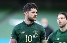 Robbie Brady an injury doubt for Kenny's Ireland ahead of Euro play-off