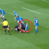 Saracens flanker Rhodes cited for striking Robbie Henshaw with his head