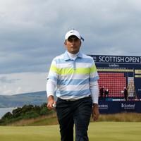 Francesco Molinari maintains Scottish Open lead