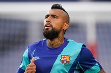 Barcelona offload Chilean midfielder Vidal to Inter Milan