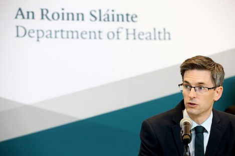 Acting chief medical officer Dr Ronan Glynn has been urging people to reduce their contacts