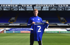 Arsenal send promising Irish youngster McGuinness on loan to Ipswich Town