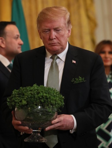 Taoiseach keen to make St Patrick's Day trip to the White House next year