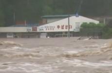 Thousands flee as floods hit Japan