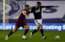 Troy Parrott makes debut but Millwall are knocked out by Jimmy Dunne and Burnley