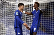 Hat-trick for Havertz, 7 up for Newcastle, Arsenal and Everton also advance