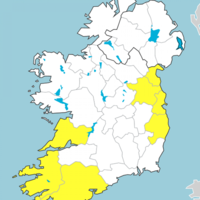 Wet and dull day ahead with wind and rainfall warnings in place
