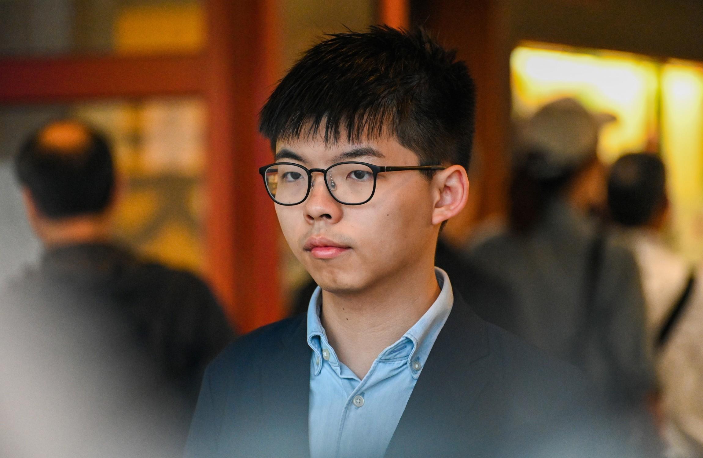 Hong Kong Activist Joshua Wong Arrested Again