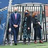 Taoiseach acknowledges 'damage and difficulties' to locals during visit to flats where rave took place