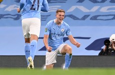 Liam Delap – son of ex-Ireland international Rory – 'buzzing' after debut Manchester City goal
