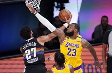 Lakers overcome Murray magic to take 3-1 lead