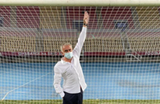 Jose Mourinho investigates suspiciously low crossbar in Skopje
